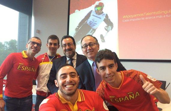 Iberia patrocinará al Equipo Paralímpico Español en Rio 2016