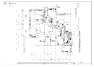 足場設計 平面図