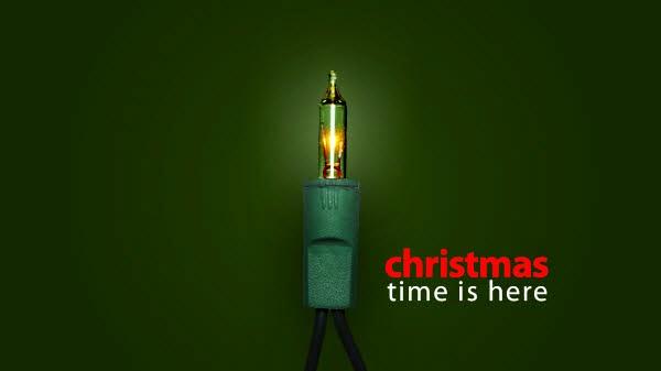 merry christmas wallpaper light