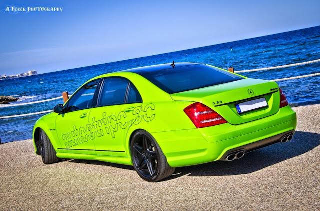w221 green