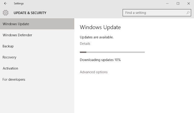 Cara Mematikan Fitur Auto Update pada Windows 10