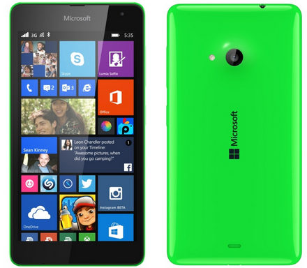 Microsoft Lumia 535 Full Feature and Bangladesh Price 2015