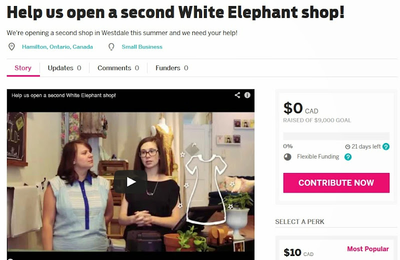 http://igg.me/at/whiteelephantshop