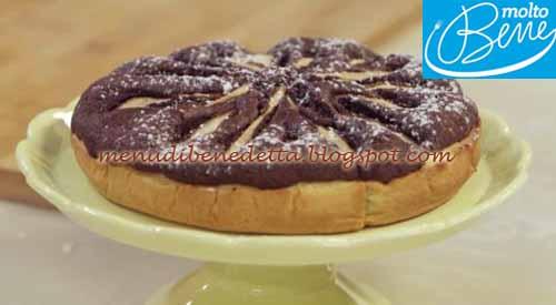 Frolla di Pere e Cioccolato ricetta Parodi per Molto Bene su Real Time