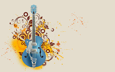 Guitars wallpapers designs