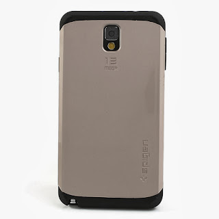 Slim Armor Case for Samsung Galaxy Note 3 N9000 N9002 N9005 - Gold