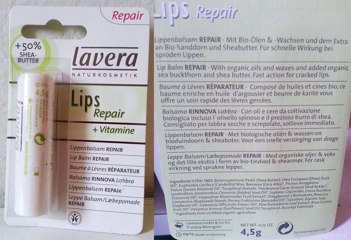Lavera Lips - Balsamo labbra repair
