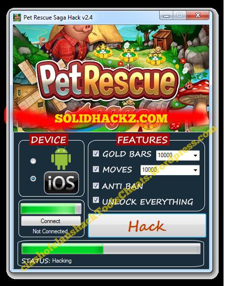 Pet Rescue Saga Hack Tool
