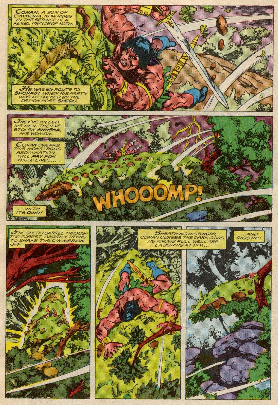 Conan the Barbarian (1970) Issue #194 #206 - English 3