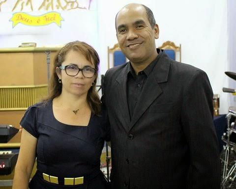 Missionária Cristina e Pastor Marcelo