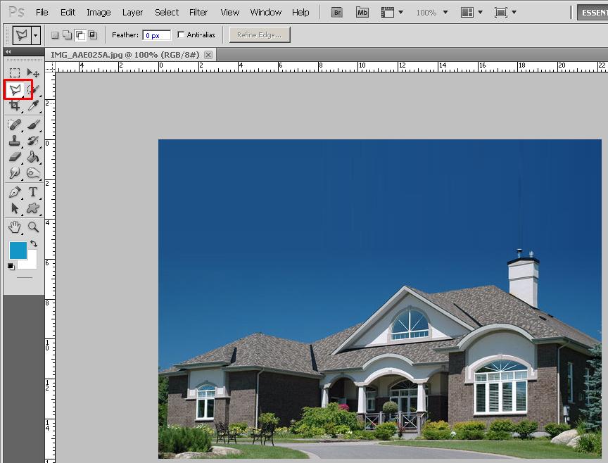 tutorial mengganti background foto
