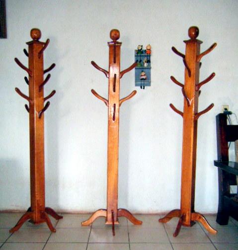 Puntos basicos carpinteria perchero multiple vertical for Percheros en madera