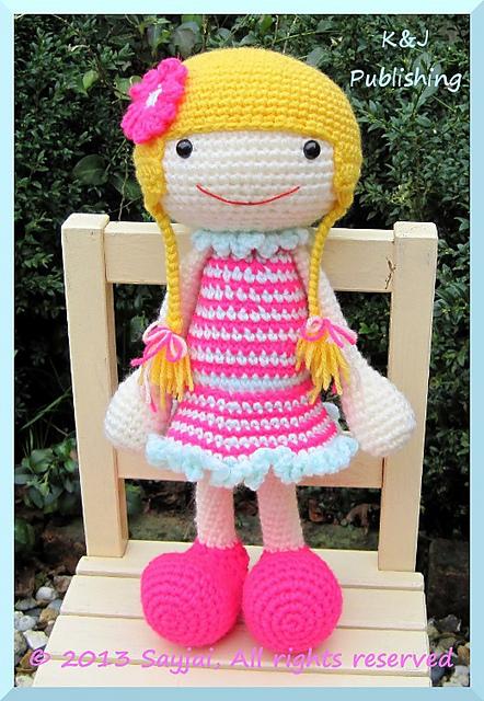 Huggy Izzy Huggy Denise Sayjai Amigurumi Crochet Patterns K