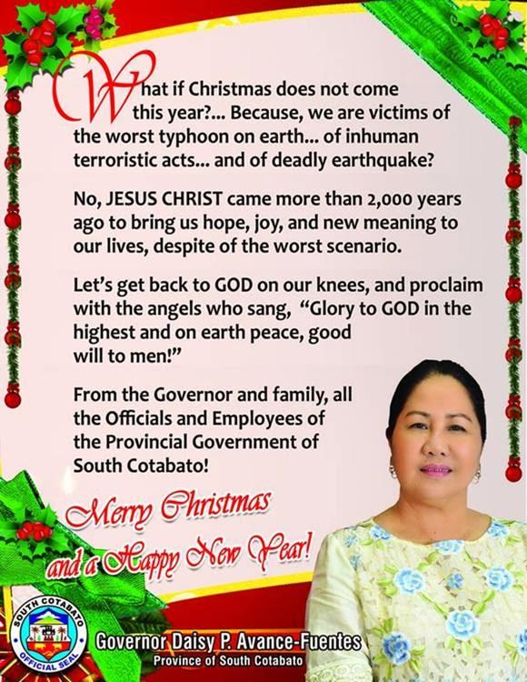 Daisy Avance Fuentes South Cotabato Governor