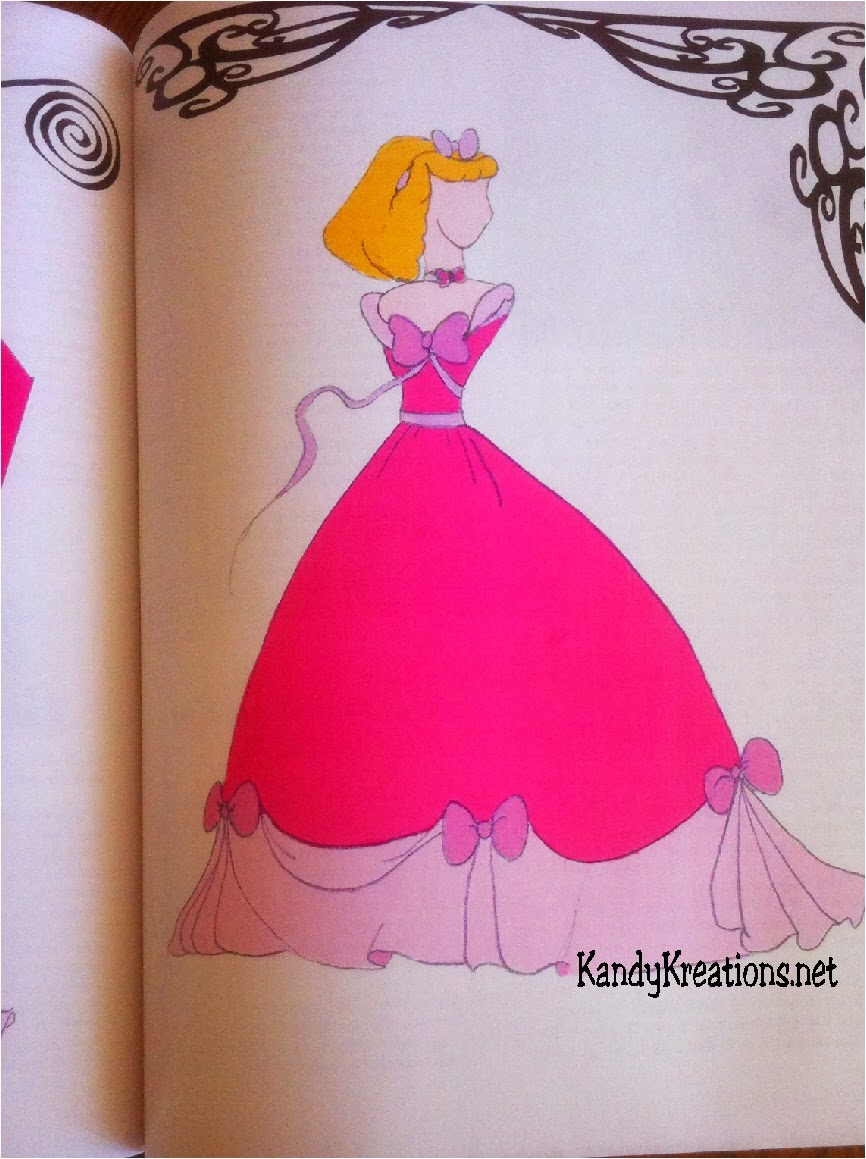 Make Cinderellas dress pattern
