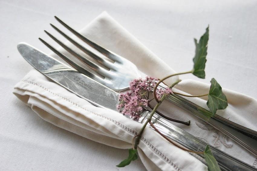 Servilleteros con flores silvestres1