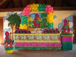DECORACIONES CON BARNEY Y SUS AMIGOS decoracionesparafiestasinfantiles.blogspot.com