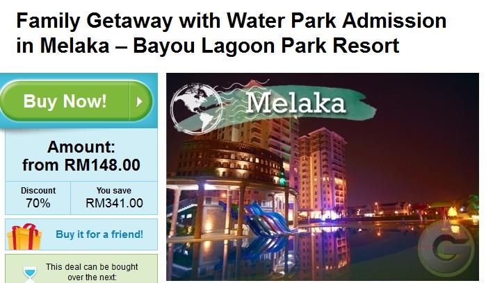 Family Getaway Bayou Lagoon Park Resort