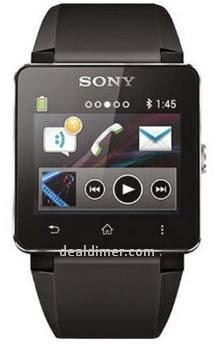 Sony SW2 Digital Dial Unisex Watch