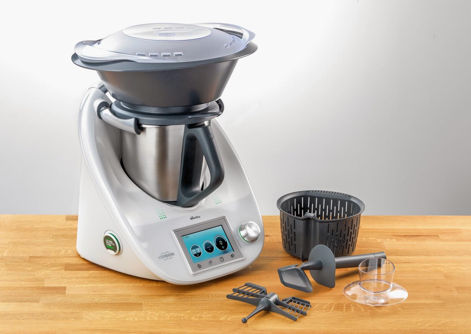 Le nostre bimby ricette consigli per cucinare col bimby - Robot per cucinare ...