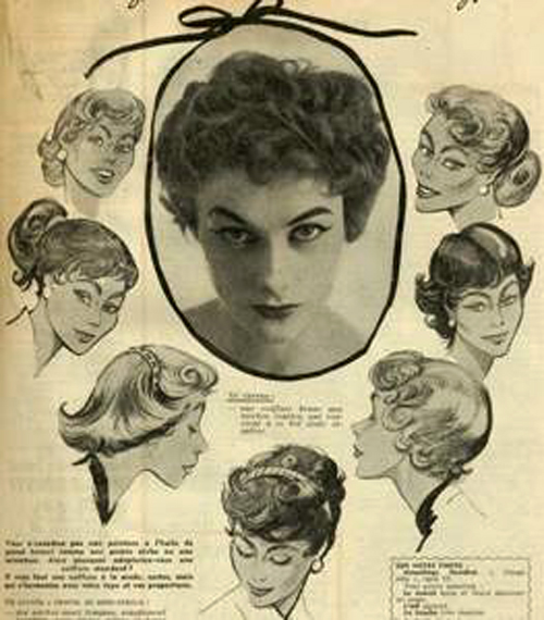 The Hair Style File Elizabeth Taylor Sets 1950s Trends In Short Curls