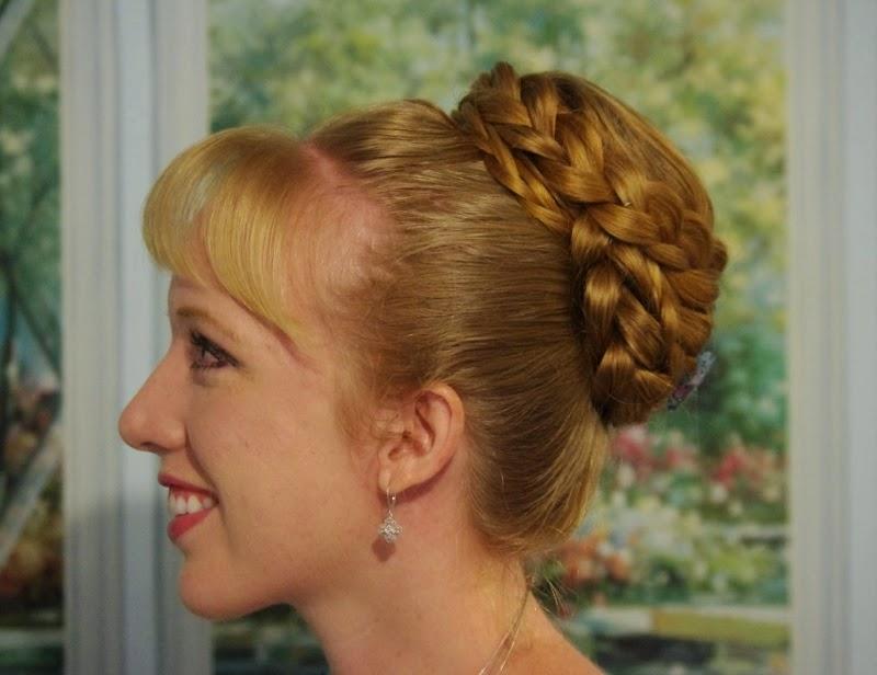 Braids & Hairstyles for Super Long Hair: Braided Beehive