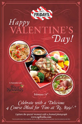 Valentines Day Celebration at TGI Friday's