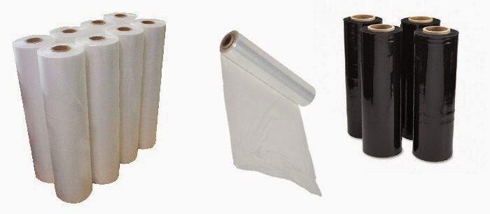 Stretch film χειρός και μηχανής - Stretch film εξαγωγών σε μαύρο χρώμα