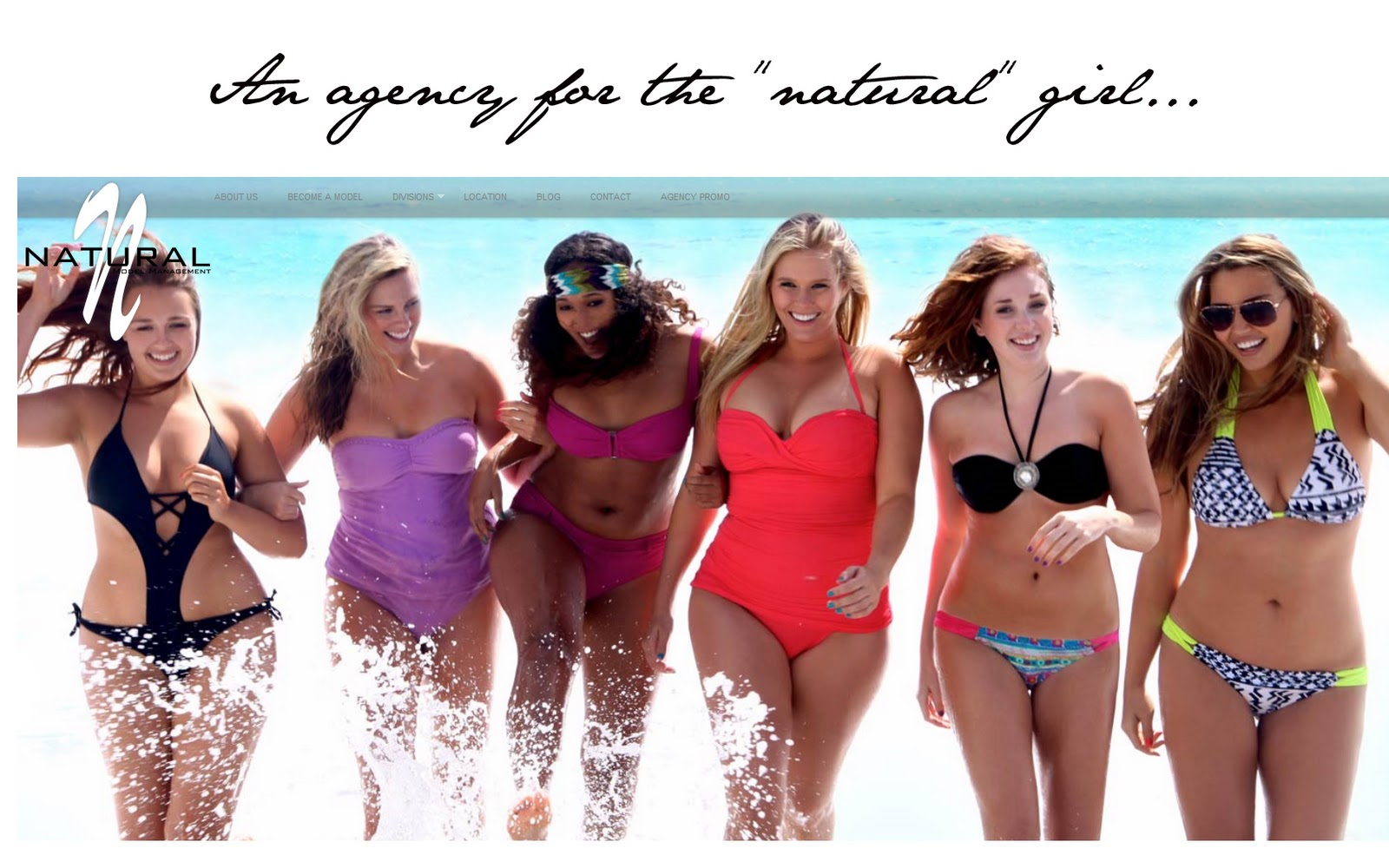 """a """"natural"""" sized modeling agency?"""