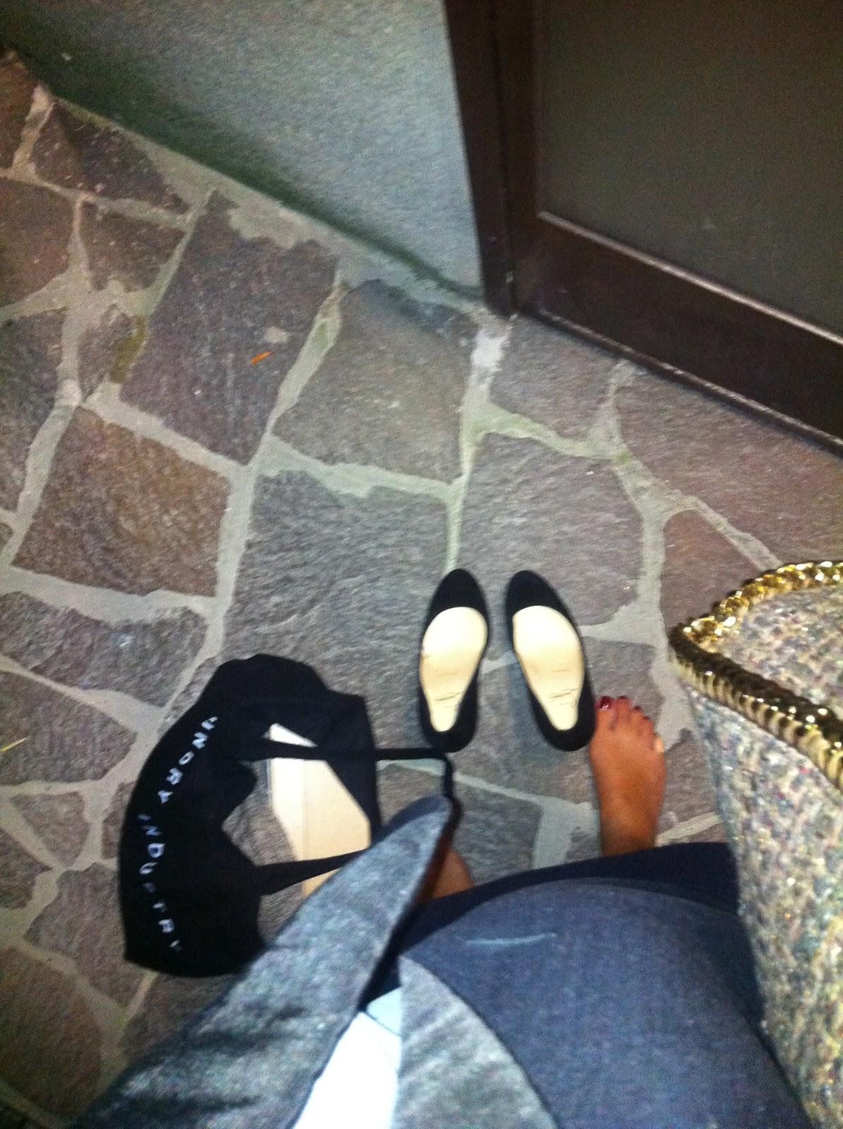 Otta e i suoi poveri piedini dopo la serata