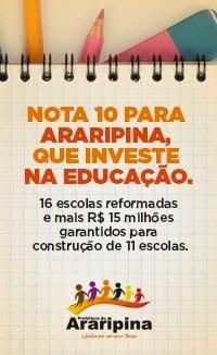 Nota 10 para educação