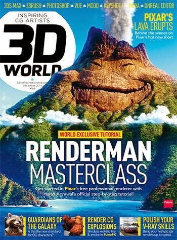 3D World Magazine December 2014