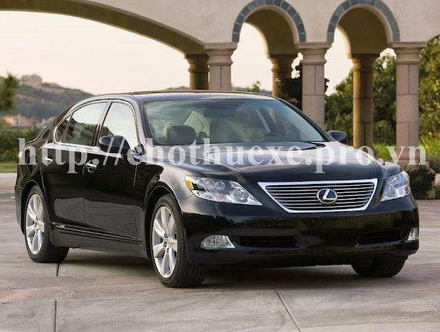 Cho thuê xe VIP Lexus LS600 tại Hà nội