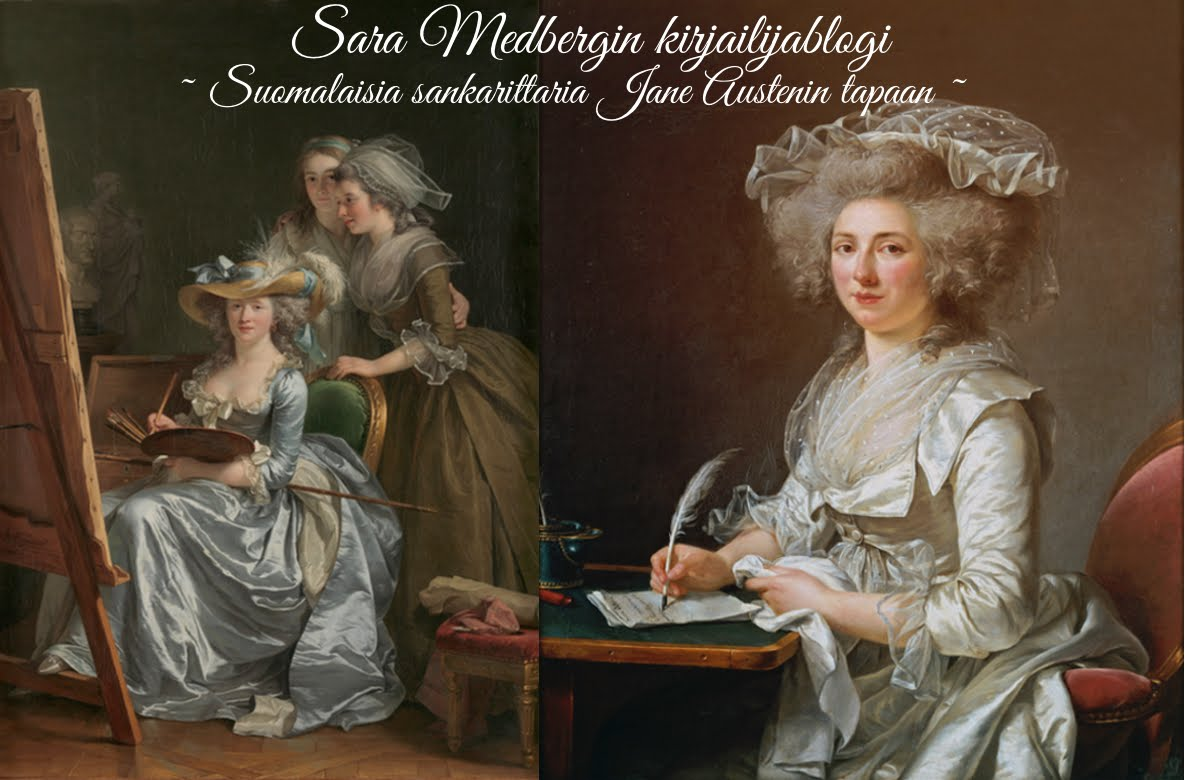 Sara Medbergin kirjailijablogi