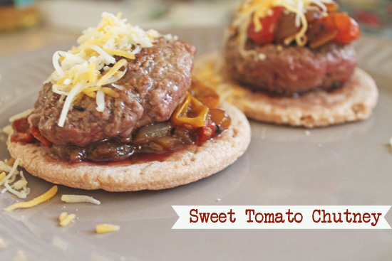 Acute Designs: Sweet Tomato Chutney