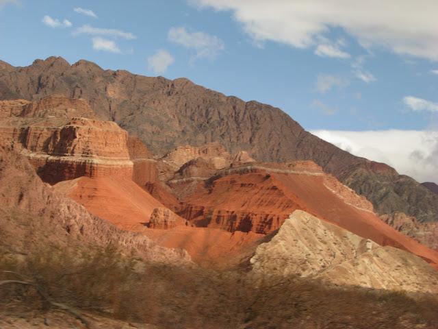 Quebrada de Cafayate argentina