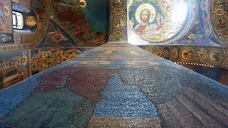 Interior de la iglesia de la sangre derramada, San Petersburgo
