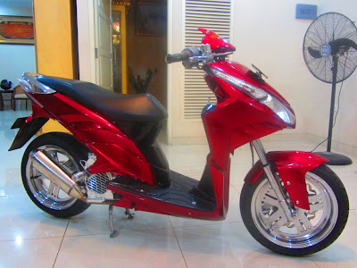 modifikasi vario techno, vario techno modifikasi, modifikasi honda vario