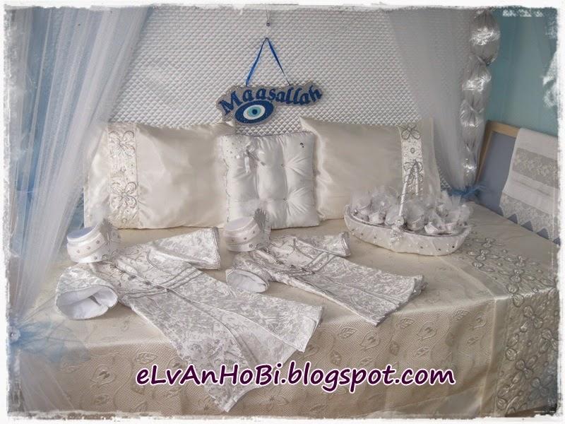 sünnet yatağı süsleme