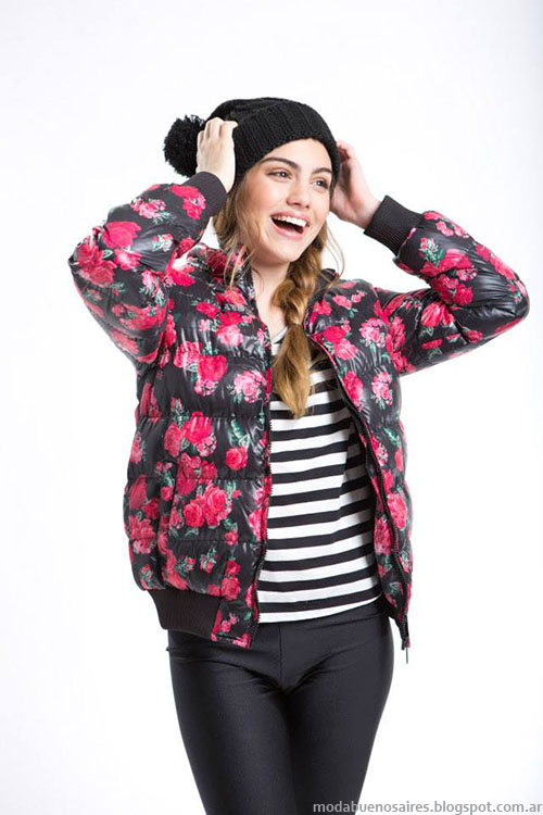 Camperas invierno 2015 ropa de moda juvenil Como quieres.