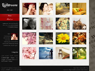 Lightroom Advanced Blogger Template