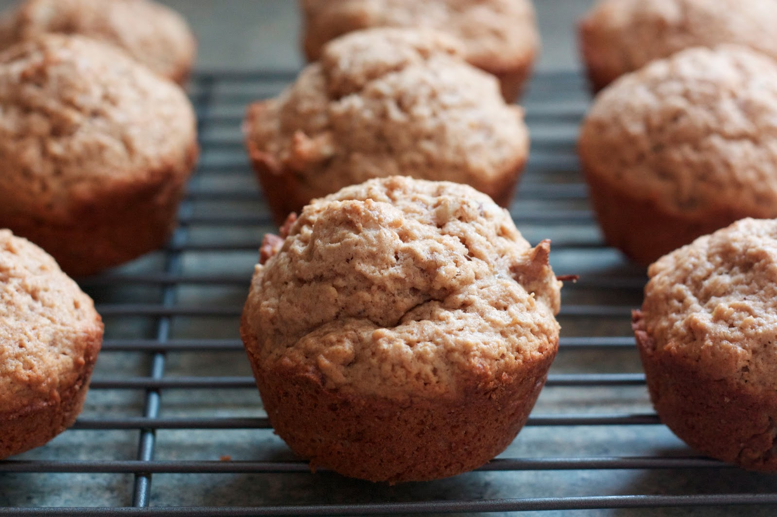 Zaaberry: Coconut Banana Nut Muffin RECIPE