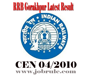 RRB Gorakhpur TC/TE (CEN 04/2012) Revised 1st Stage Examination Result and Second Stage Exam Admit Card/Call Letters