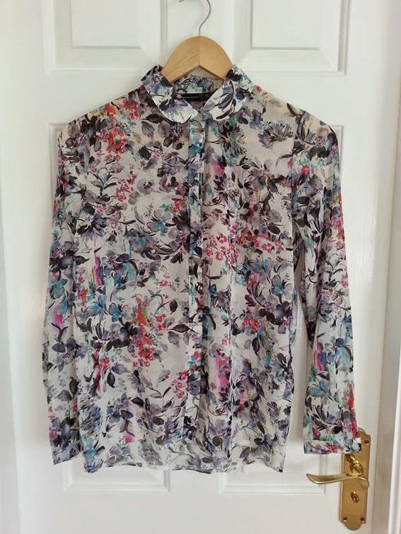 floral blouse primark fashion blog