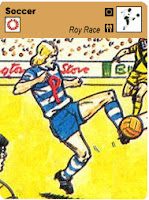 Sportscaster Soccer Card - Roy Race 1977 (Pine City Pirates)