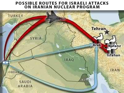 peta kekuatan militer israel vs iran