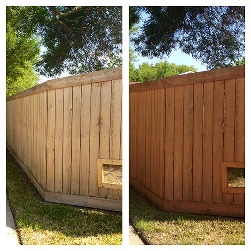 The Happy Homebodies Quick Fence Facelift