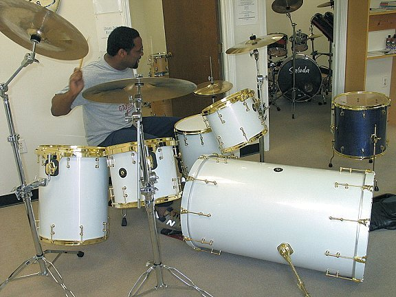 Создание барабанной установки 96