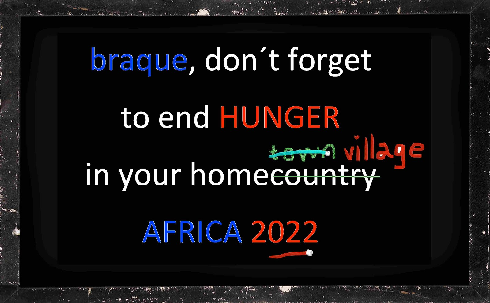 barack obama THE MENTAL REVOLUTION mischa vetere HUNGER committment AFRICA UN