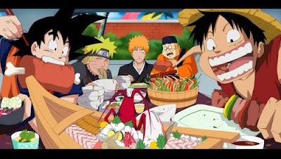 Goku Naruto Ichigo Luffy